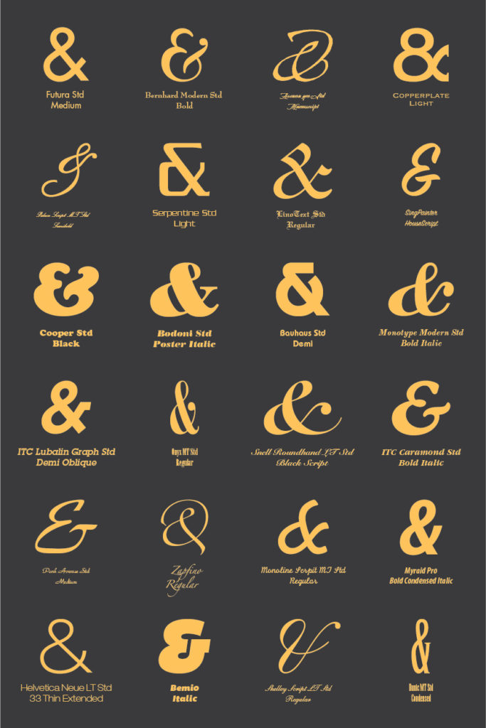 ampersand-variations-infographic