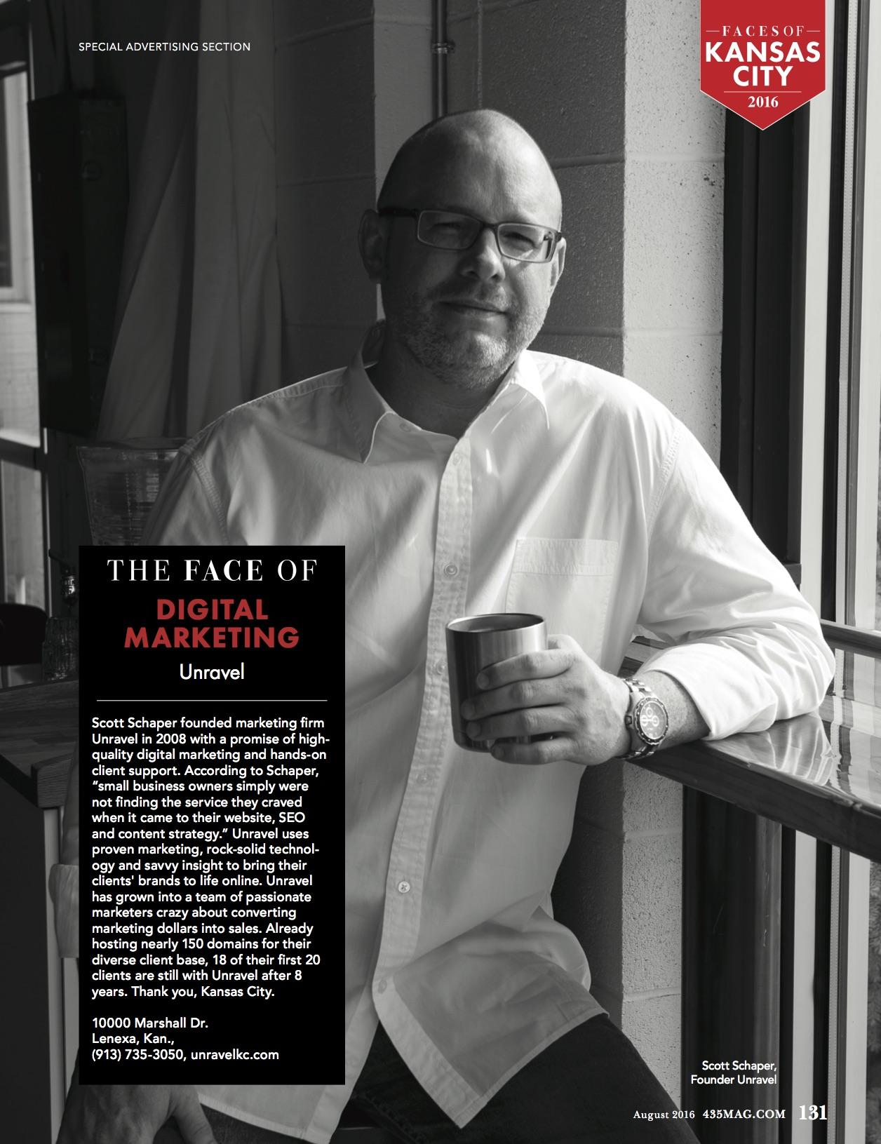 Face of Digital Marketing | 435 Magazine