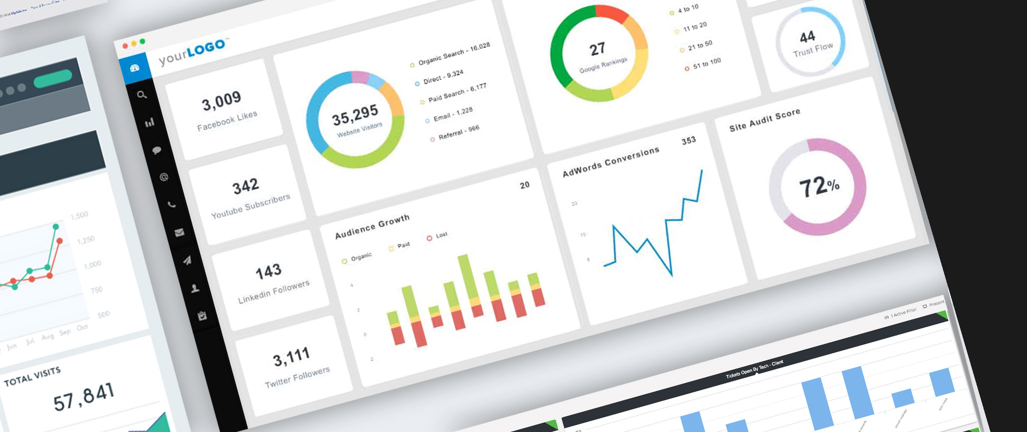 dashboard canted dark | Home | Unravel SEO